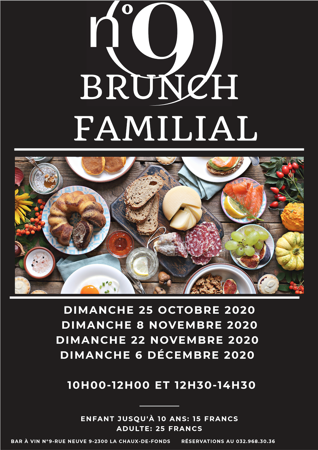 Brunch oct-déc 2020